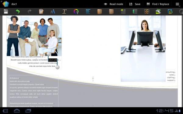 Polaris Office Document