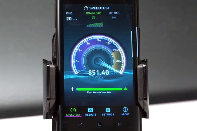 speedtest showing difference between lte and 4G lte