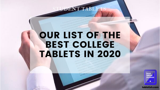 best student tablets 2020
