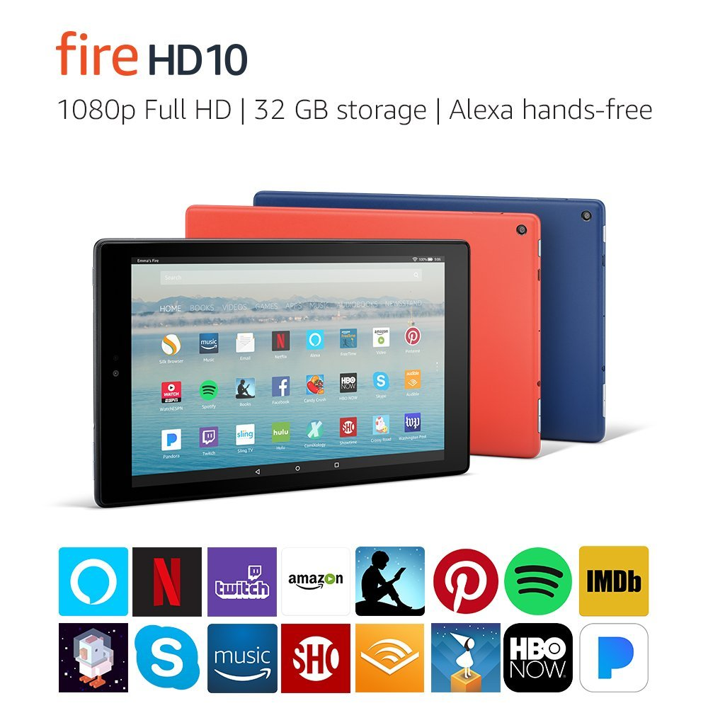amazon fire 10 best budget college tablet