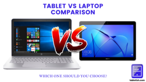 tablet vs laptop comparison