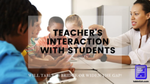 teacher interaction with students