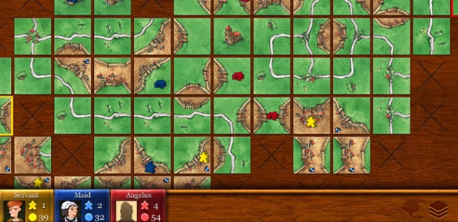 carcassone game for tablet pc device
