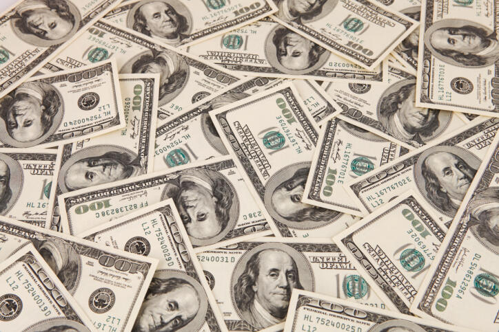 picture of money representing shopping budget