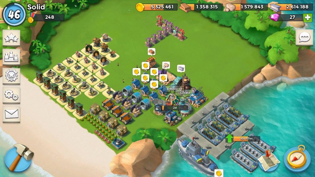 boom beach best games for tablet