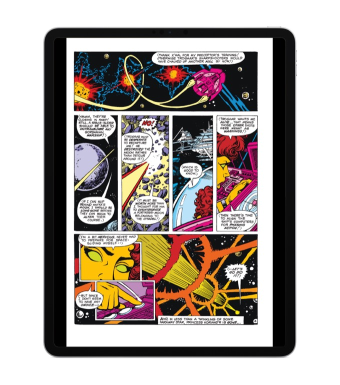 tablet for reading comics