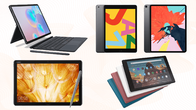 group of the best gaming tablets