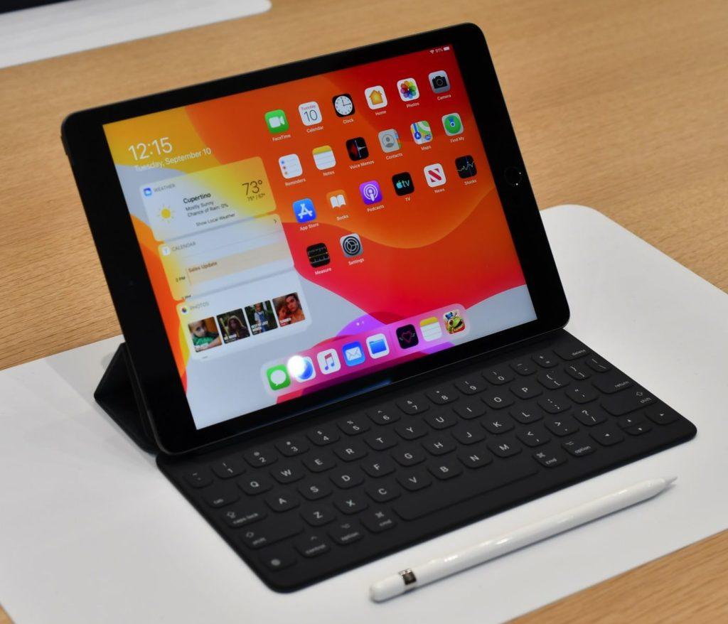 ipad 2019 with keyboard