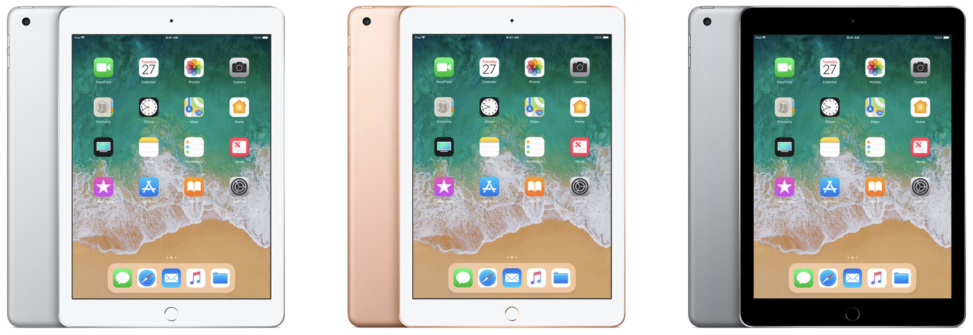apple ipad 6th gen 2018