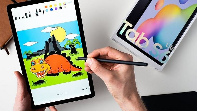 galaxy s tablet review s-pen drawing