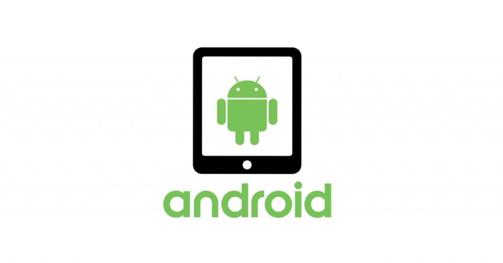 android logo and a tablet