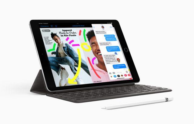 ipad 9 with pencil and keyboard